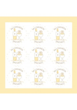 Pack 36 Stickers Personalizables